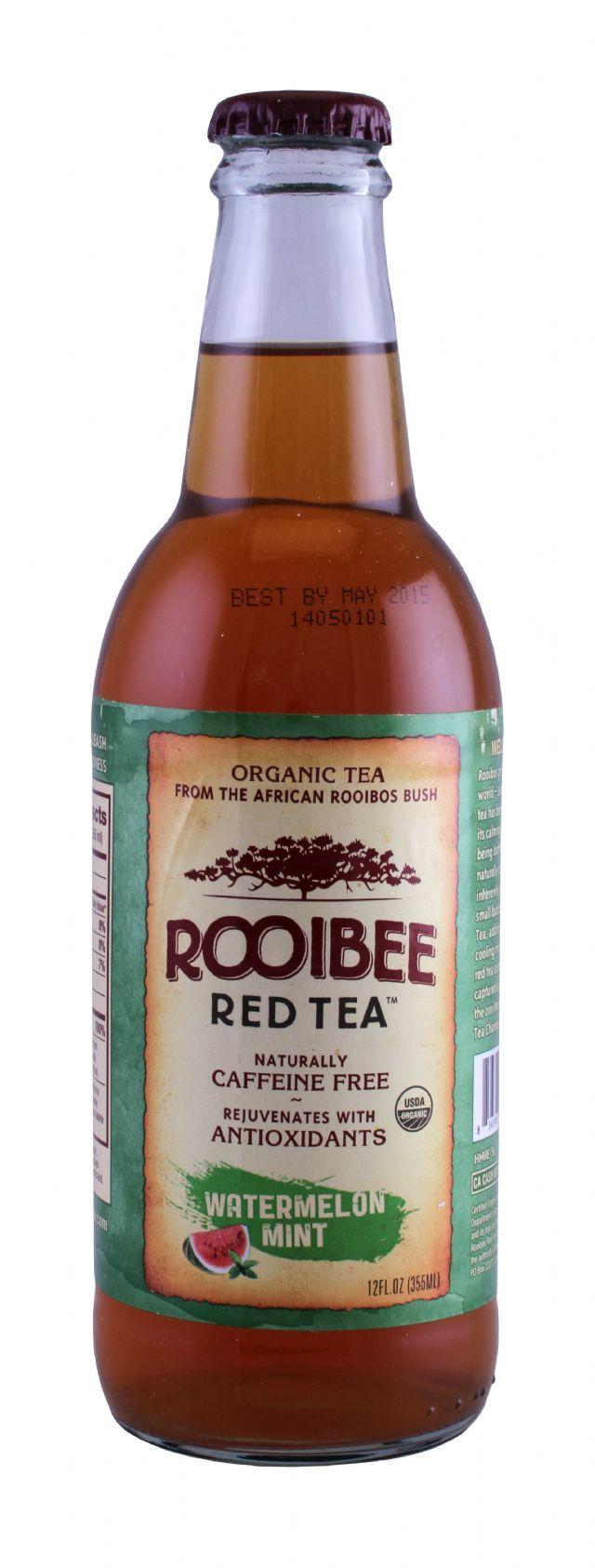Rooibee Red Tea: Rooibee WaterMint Front