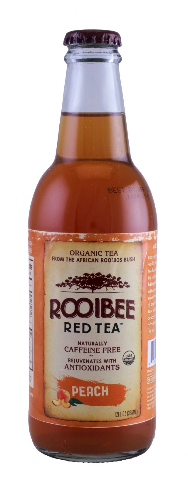 Rooibee Red Tea: Rooibee Peach Front