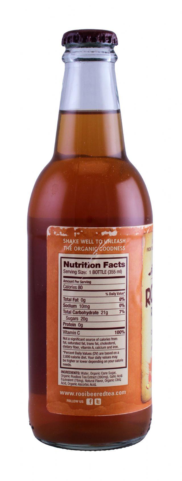 Rooibee Red Tea: Rooibee Peach Facts
