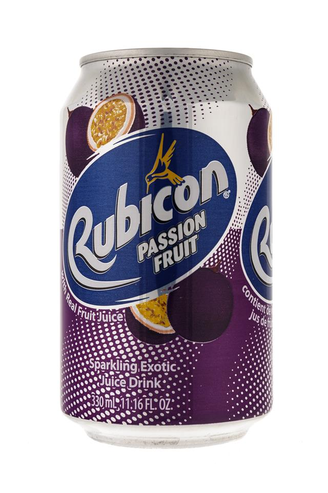 Rubicon: Rubicon-11oz-Can-Passion-Front