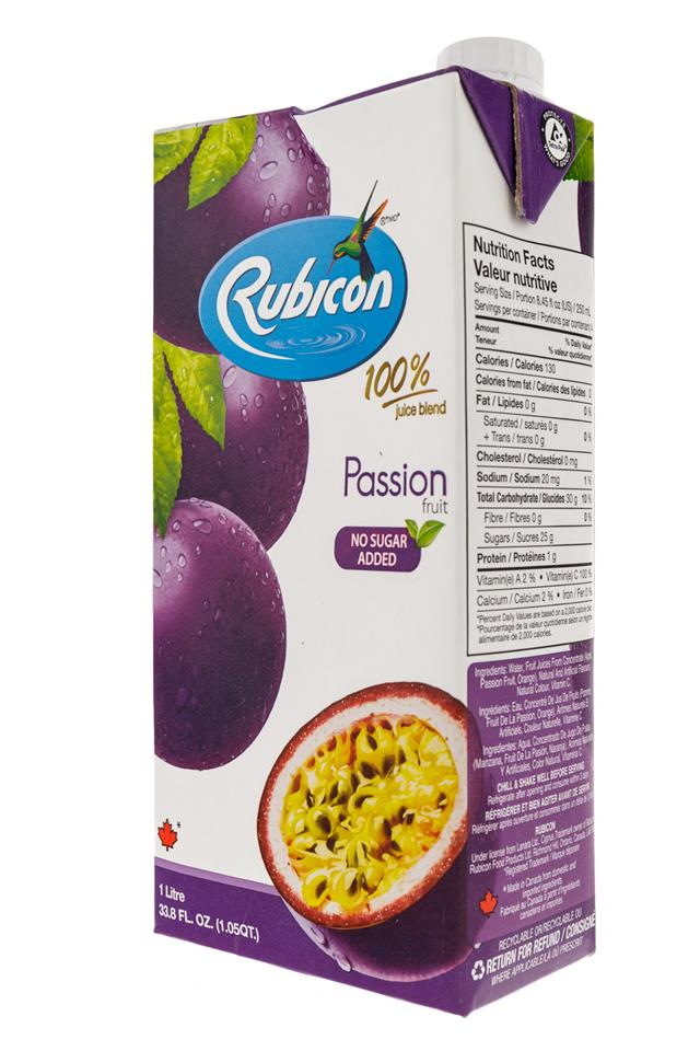 Rubicon: Rubicon-1Liter-Box-Passion-Front