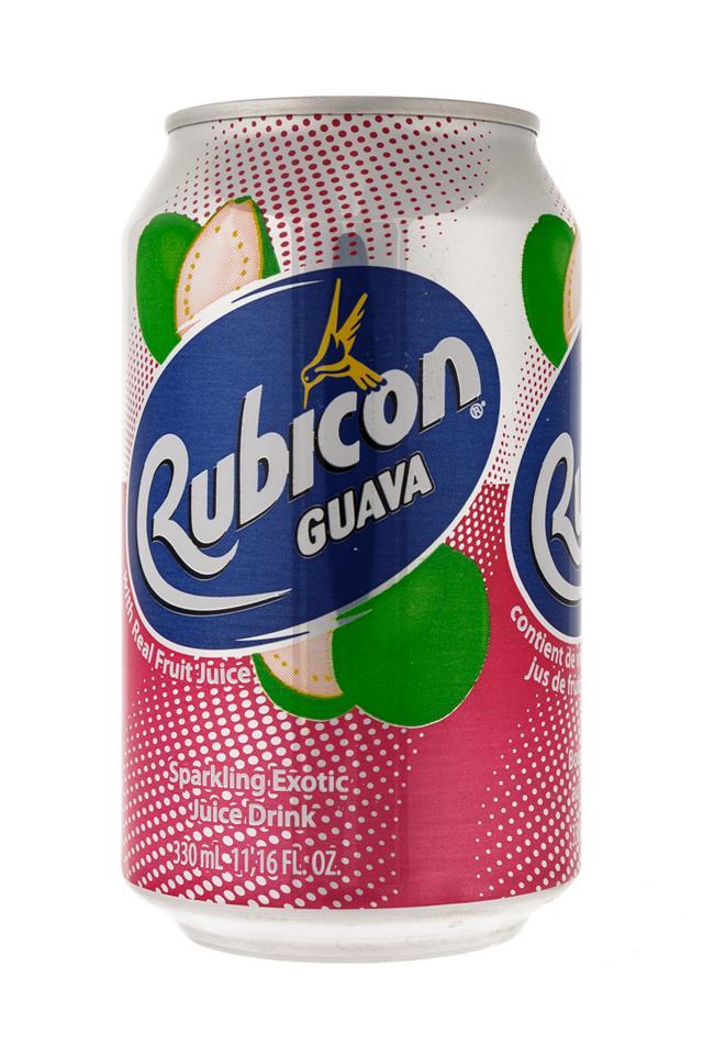 Rubicon: Rubicon-11oz-Can-Guava-Front