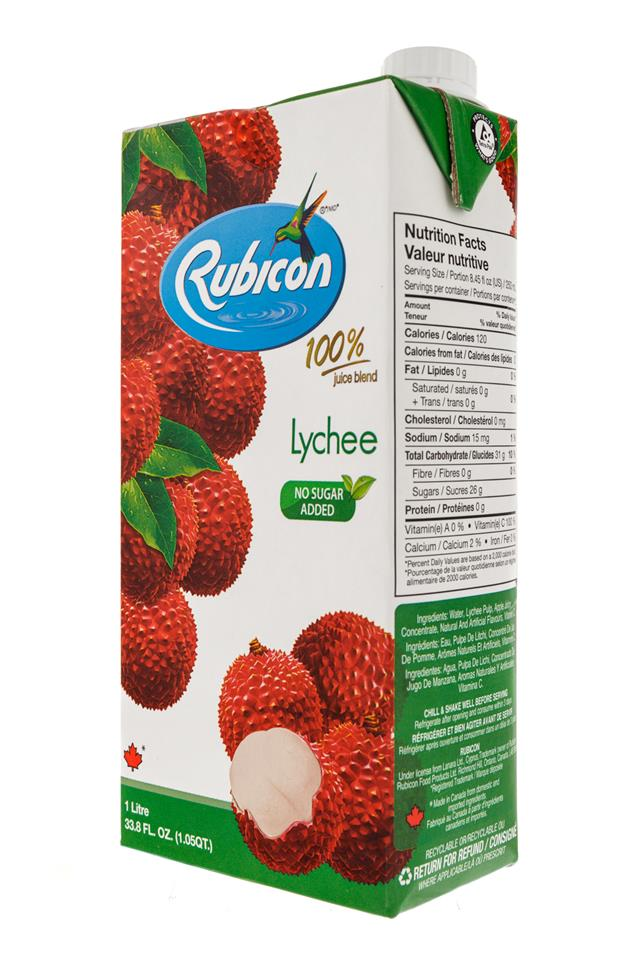 Rubicon: Rubicon-1Liter-Box-Lychee-Front