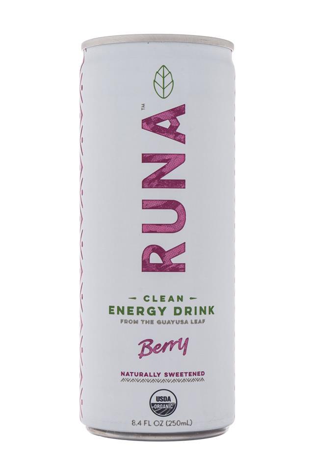 Runa Clean Energy: Runa-Energy-Berry-Front