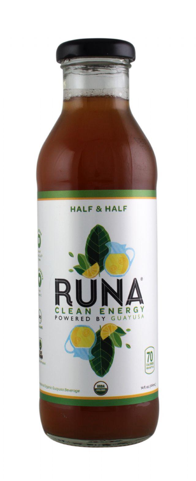 Runa Guayusa: RUNA HalfandHalf Front
