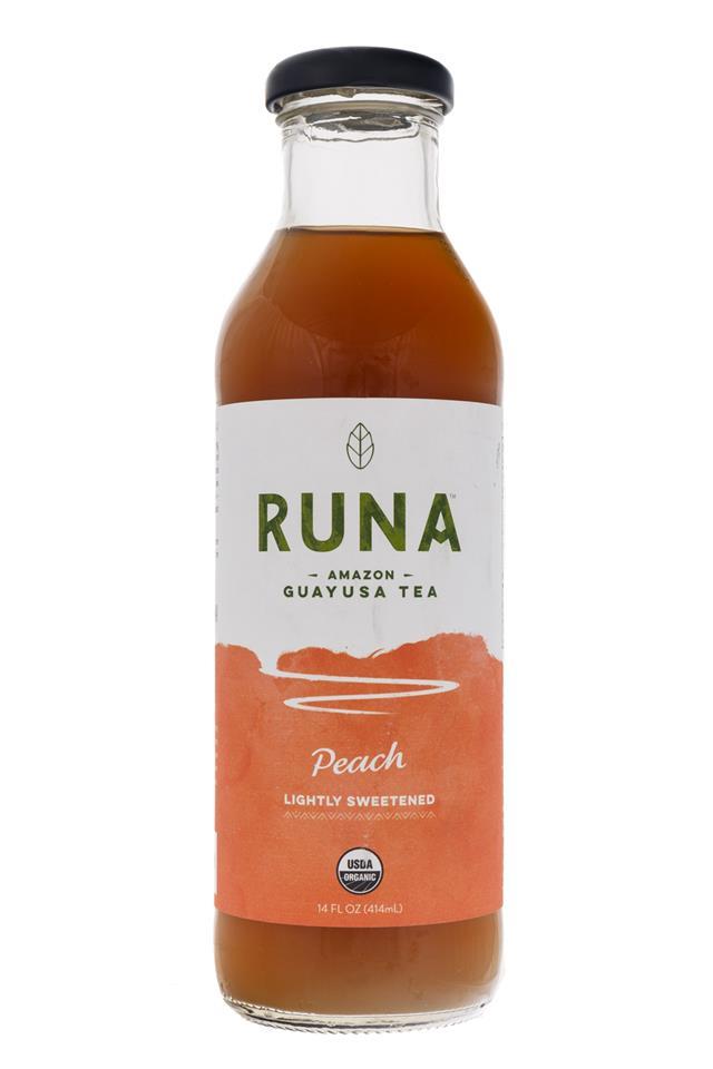 Runa Guayusa: Runa-GuayusaTea-Peach-Front