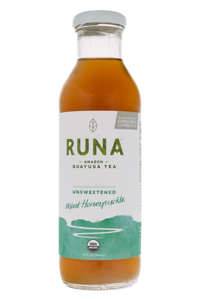 Runa Guayusa: Runa-GuayusaTea-MintHoney-Front