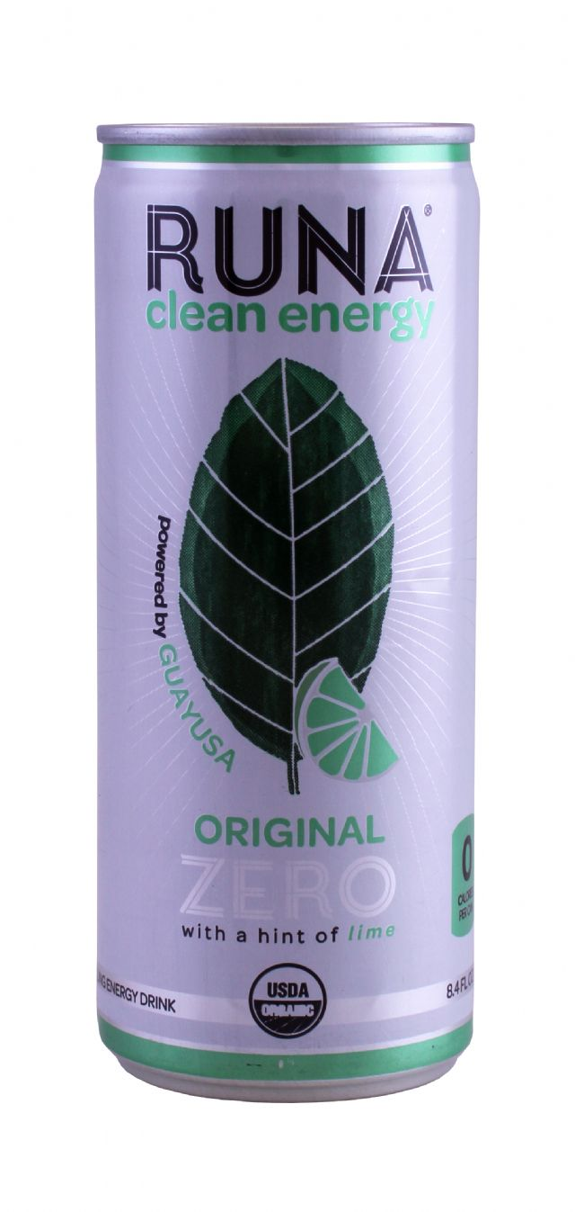 Runa Clean Energy: Runa OriginalZero Front