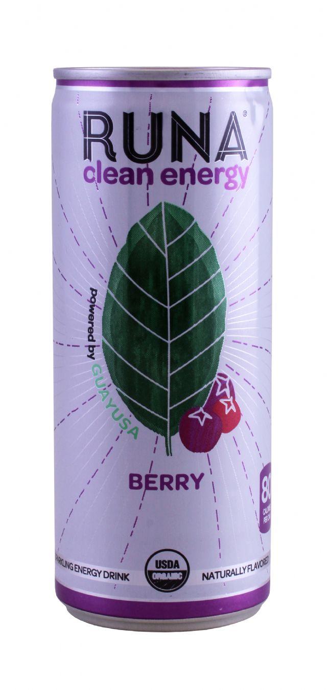 Runa Clean Energy: Runa Berry Front