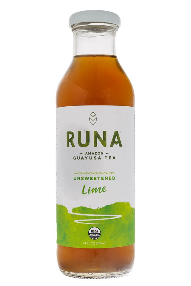 Runa Guayusa: Runa-GuayusaTea-Lime-Front