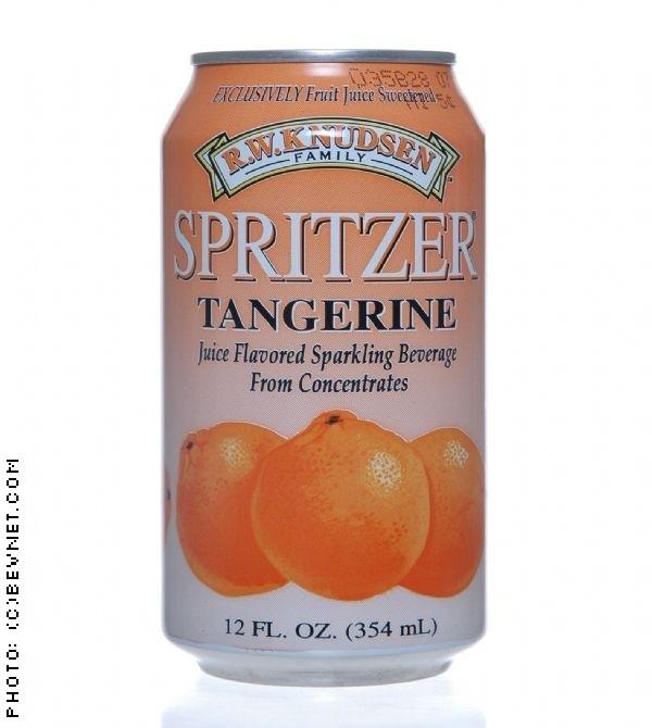 R.W. Knudsen Spritzers: knudsen-tangerine.jpg
