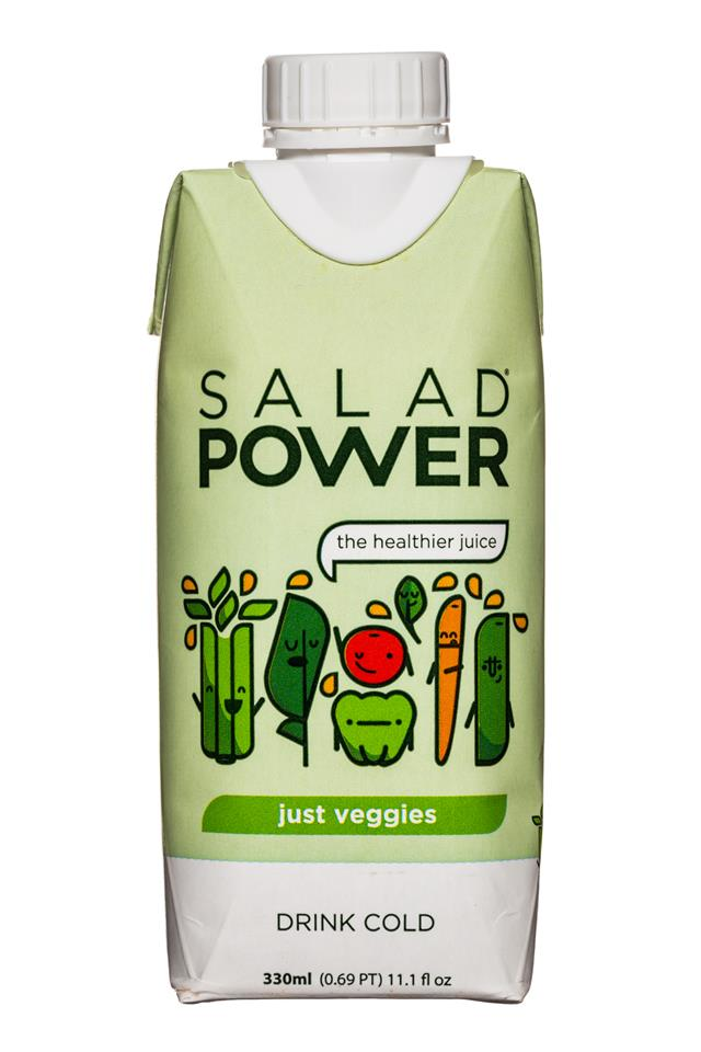 Salad Power: SaladPower-11oz-JustVeggies-Front