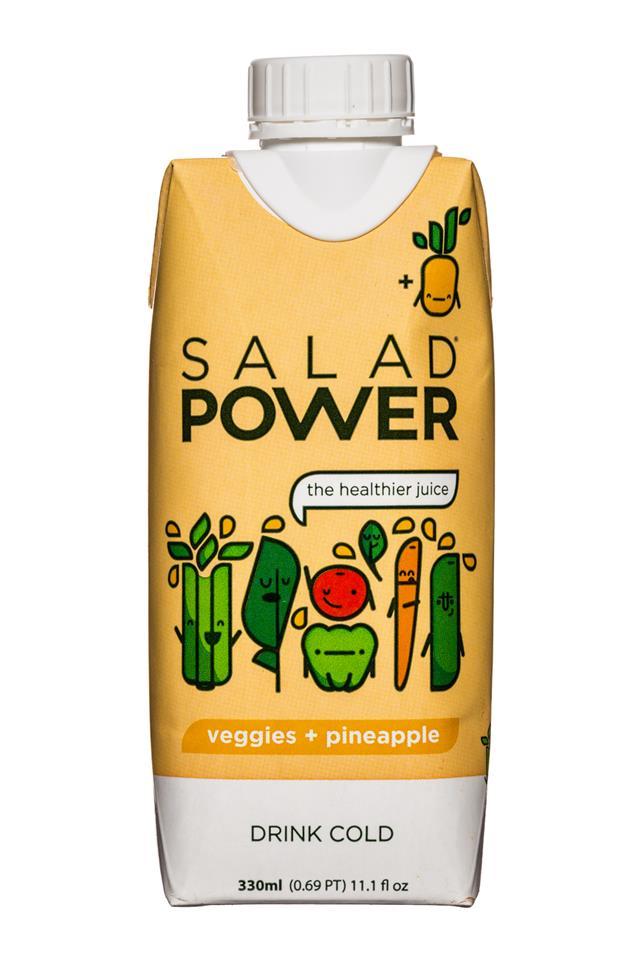 Salad Power: SaladPower-11oz-VeggiesPineapple-Front