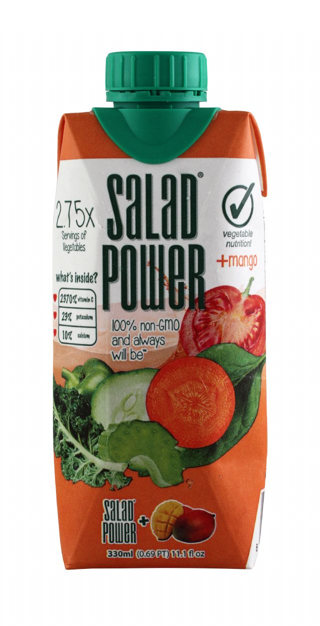 Salad Power: SaladPower Mango Front