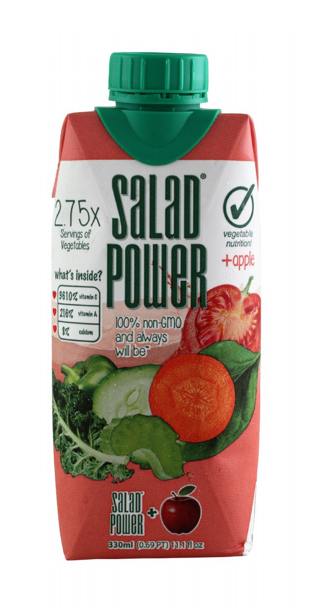 Salad Power: SaladPower Apple Front