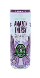 Sambazon Amazon Energy: Sambazon LowCalorie Front