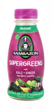 Supergreens with Kale + Ginger
