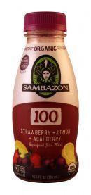Sambazon: Sambazon 100StrawLem Front