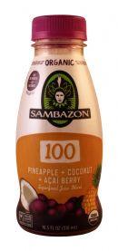Sambazon: Sambazon 100PineCoco Front