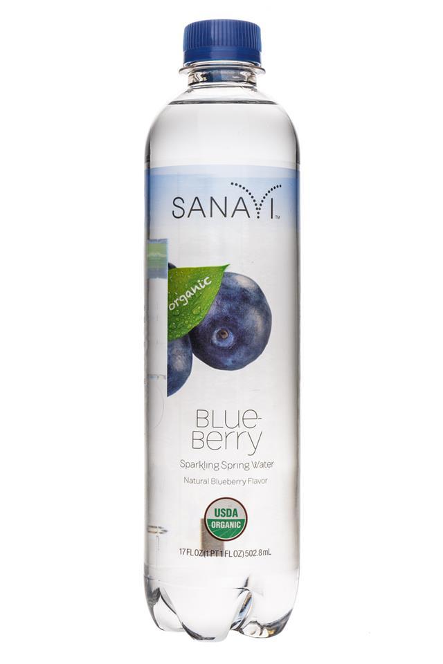 Sanavi: Sanayi-SparkingSpring-Blueberry-Front