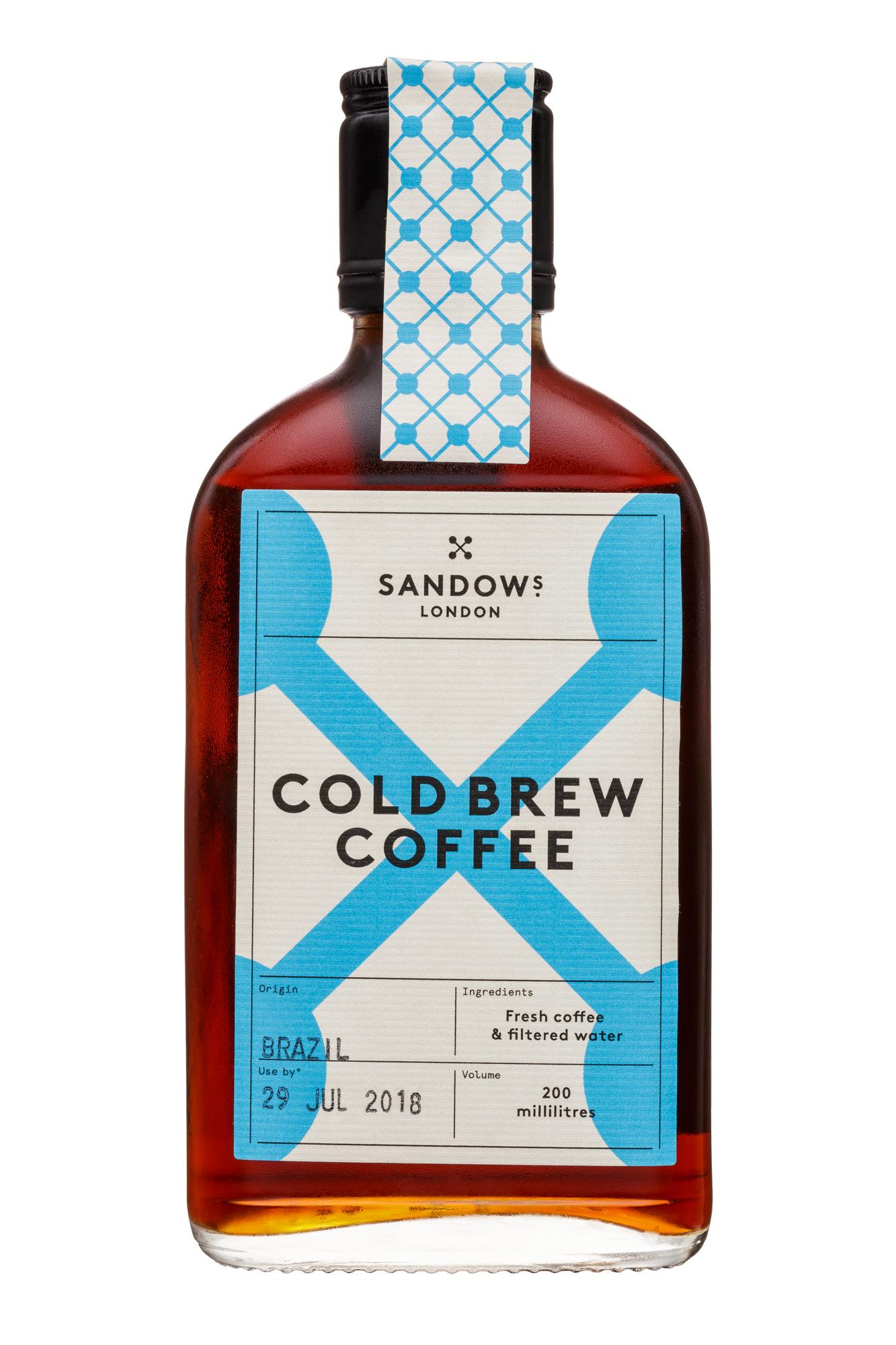 Sandows: Sandows-200ml-ColdBrew-Brazil-Front