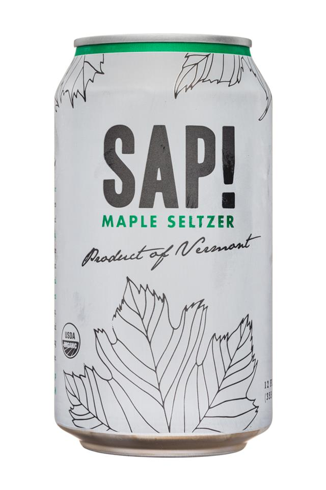SAP!: Sap-12oz-MapleSeltzer-Front