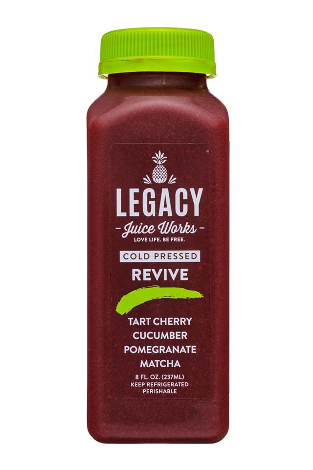 Legacy Juice Works: Legacy-8oz-ColdPressed-Revive-Front