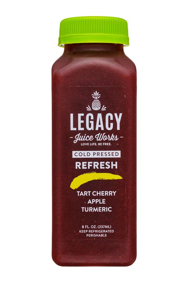 Legacy Juice Works: Legacy-8oz-ColdPressed-Refresh-Front