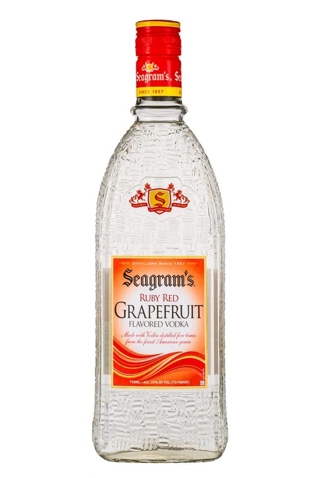 Seagram's: Seagrams-FlavoredVodka-750ml-Grapefruit