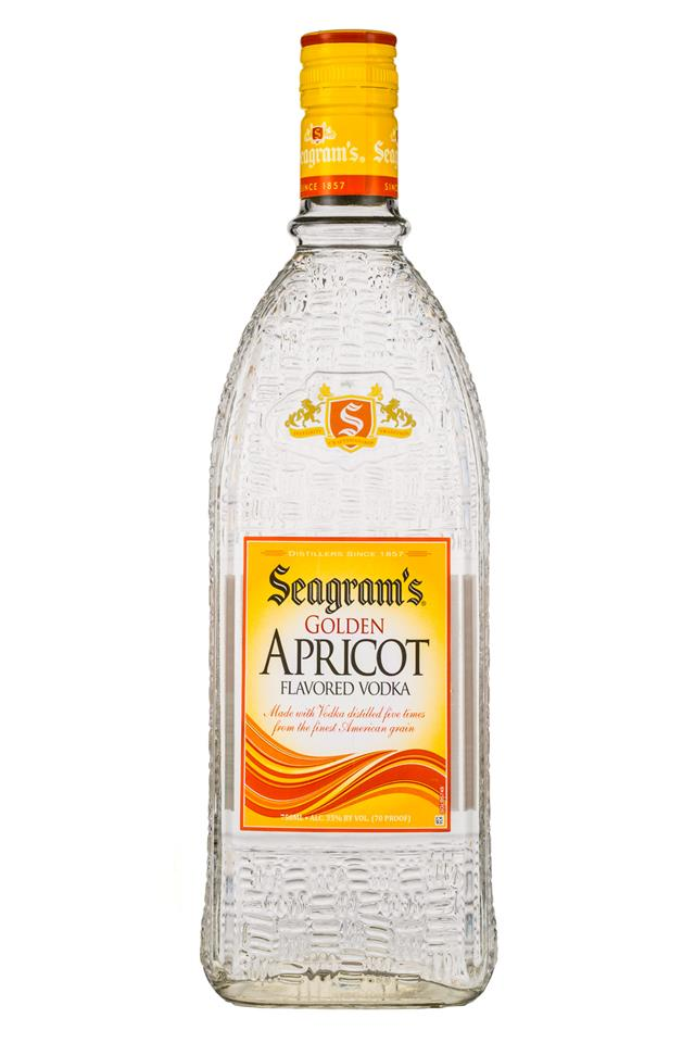 Seagram's: Seagrams-FlavoredVodka-750ml-Apricot