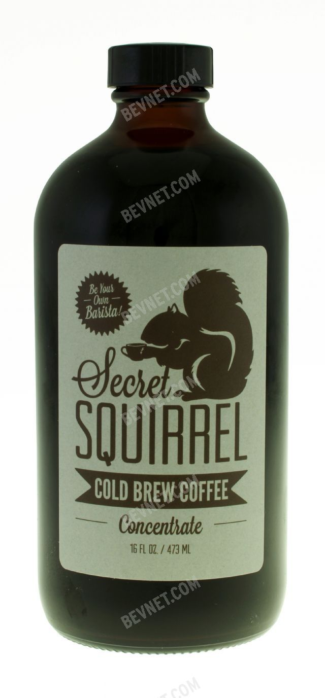 Secret Squirrel Cold Brew Coffee: