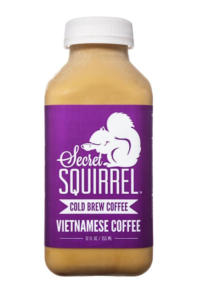 Secret Squirrel Cold Brew Coffee: SecretSquirrel-ColdBrew-Vietnamese-Front