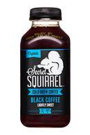 Secret Squirrel Cold Brew Coffee: SecretSquirrel-ColdBrew-12oz-Organic-Black-LightlySweet-Front