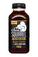 Secret Squirrel Cold Brew Coffee: SecretSquirrel-ColdBrew-12oz-Organic-Black-MapleBrownSugar-Front