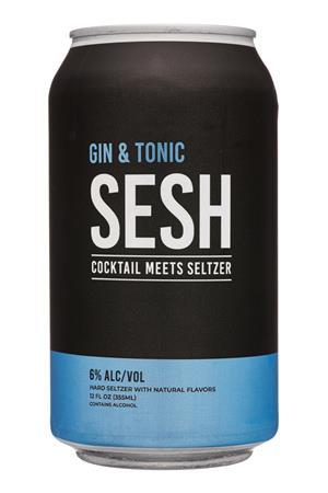 SESH: Cocktail Meets Seltzer: SESH-12oz-2020-CocktailSeltzer-GinTonic
