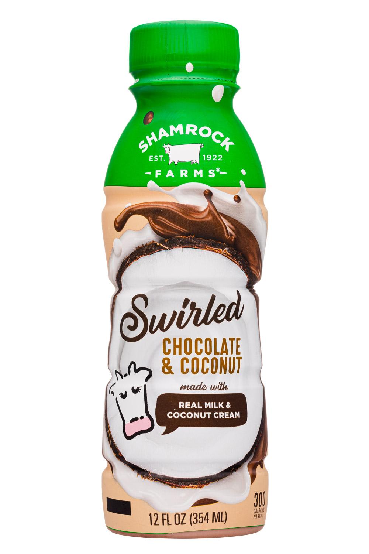 Swirled Chocolate & Coconut