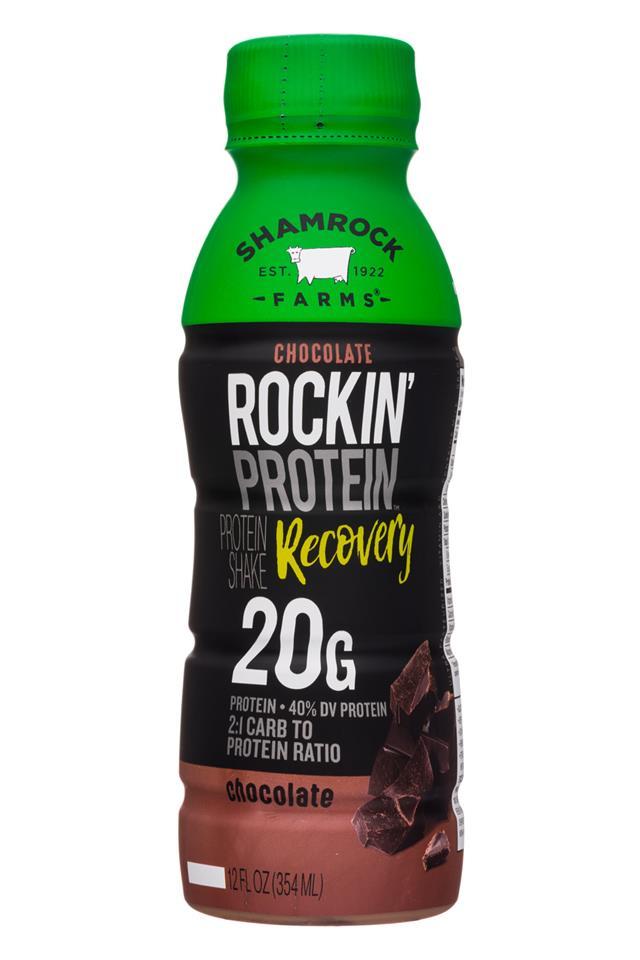 Shamrock Farms: ShamrockFarms-12oz-RockinProtein-Choc-Recovery-Front