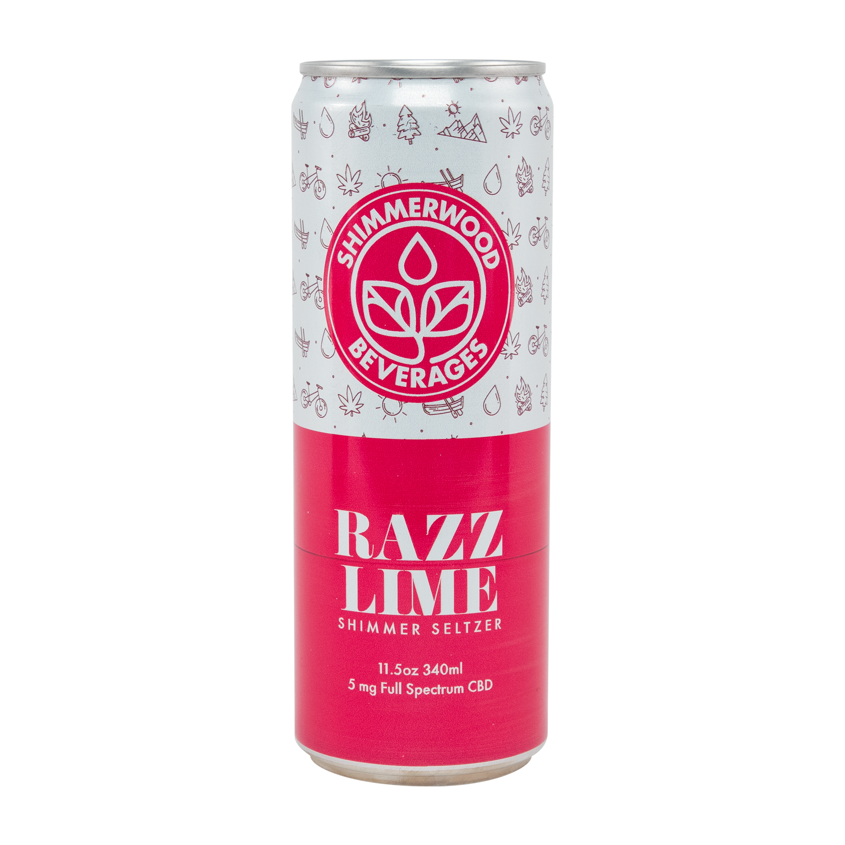 Shimmerwood Beverages: Photo of Razz Lime - Shimmerwood Beverages (uploaded by company)