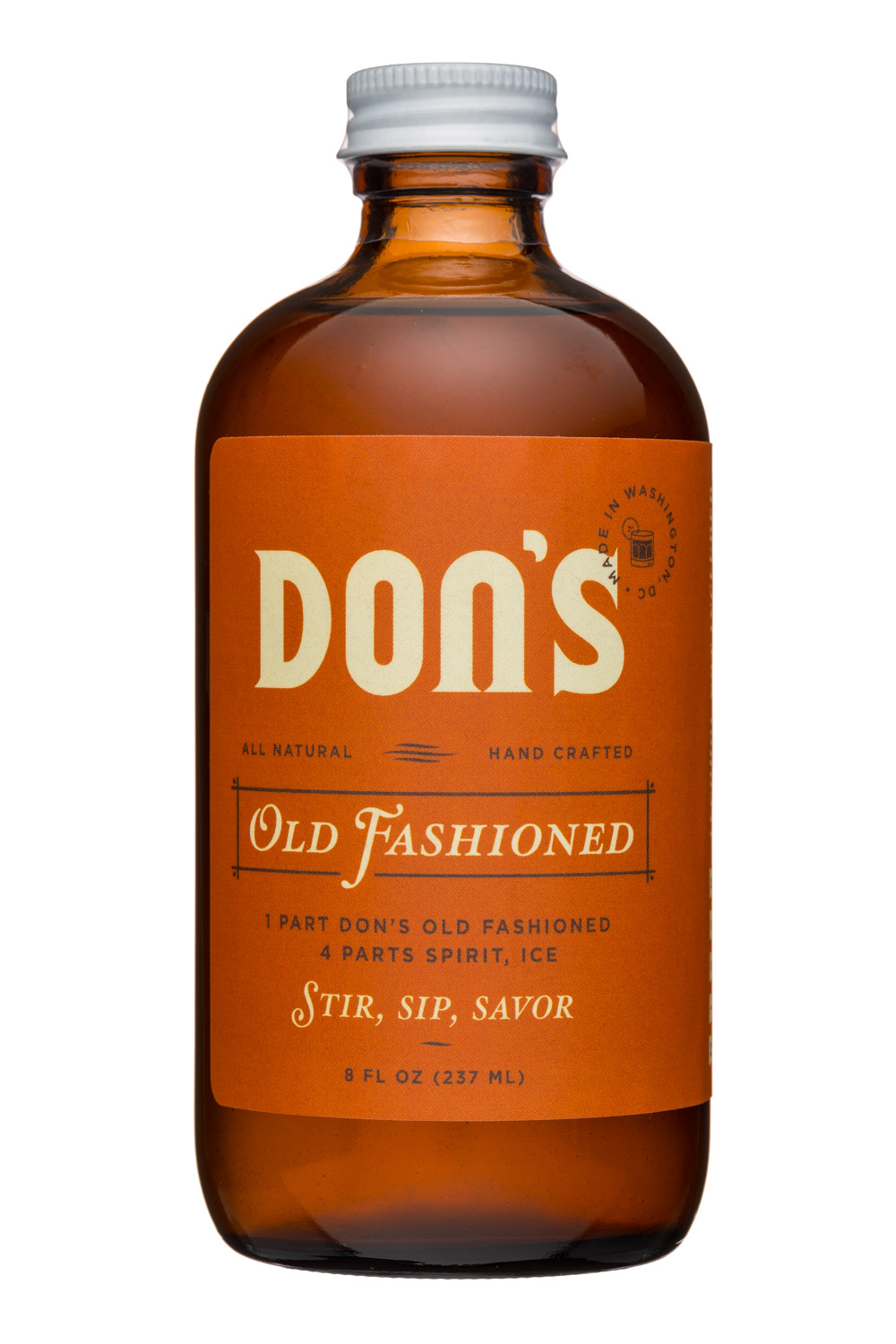 Shrub District: Dons-8oz-OldFash-Front