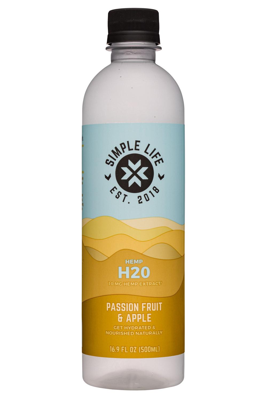 Hemp H2O - Passion Fruit & Apple (10mg Hemp Extract)