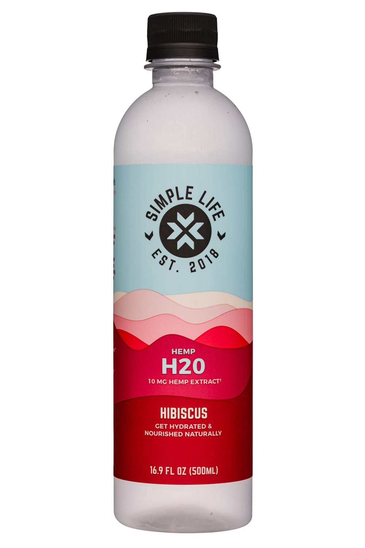 Hemp H2O - Hibiscus (10mg Hemp Extract)