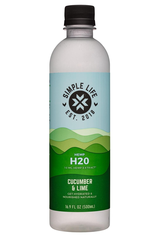 Hemp H2O - Cucumber & Lime (10mg Hemp Extract)
