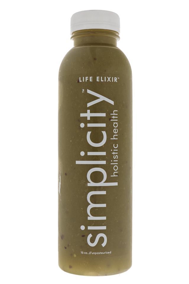 Simplicity Holistic Health: Simplicity-LifeElixer-Front