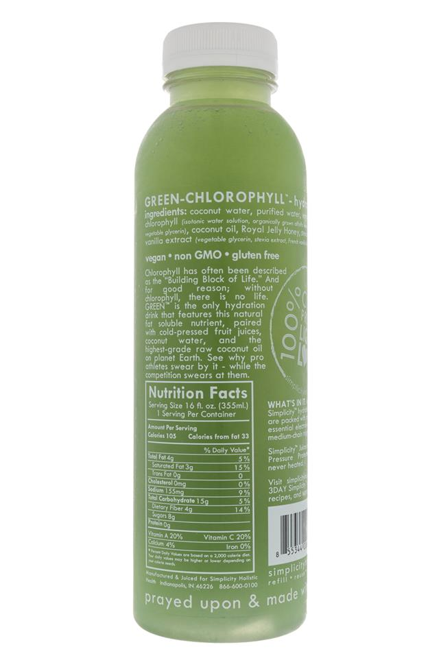 Simplicity Holistic Health: Simplicity-Chlorophyll-Facts