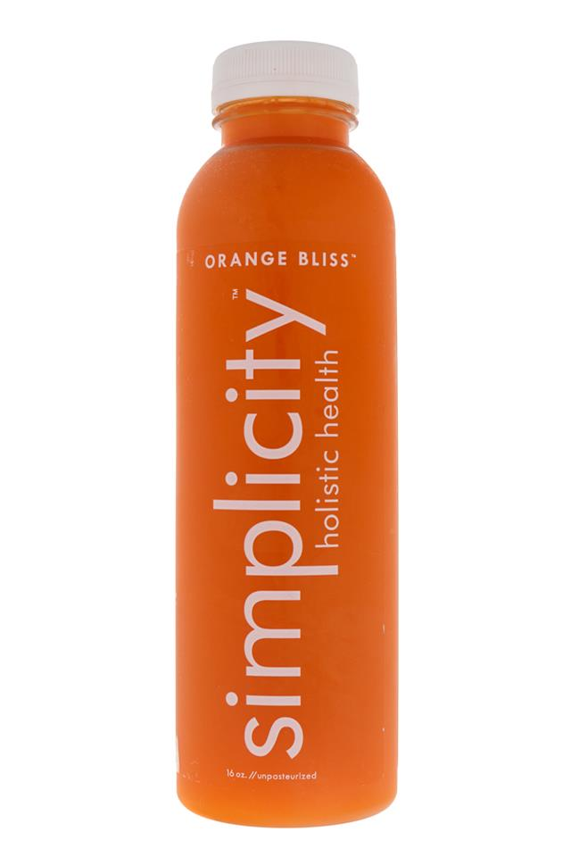 Simplicity Holistic Health: Simplicity-OrangeBliss-Front