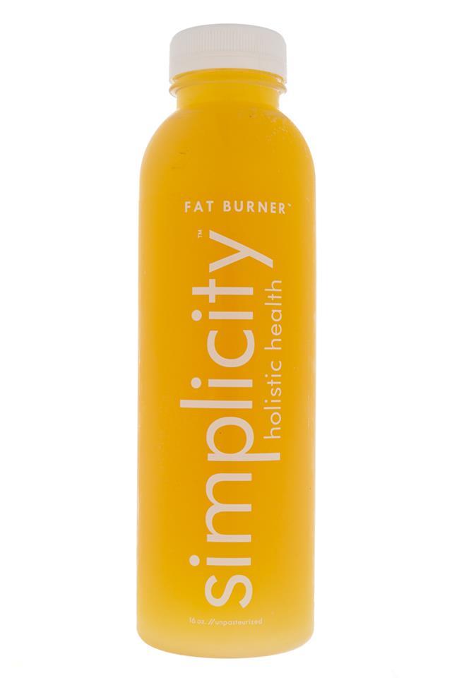 Simplicity Holistic Health: Simplicity-FatBurner-Front