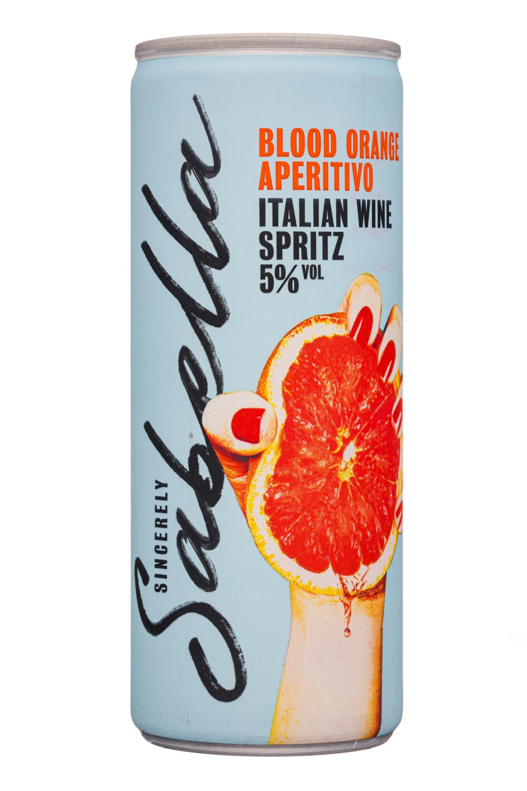 Blood Orange Aperitivo - Italian Wine Spritz