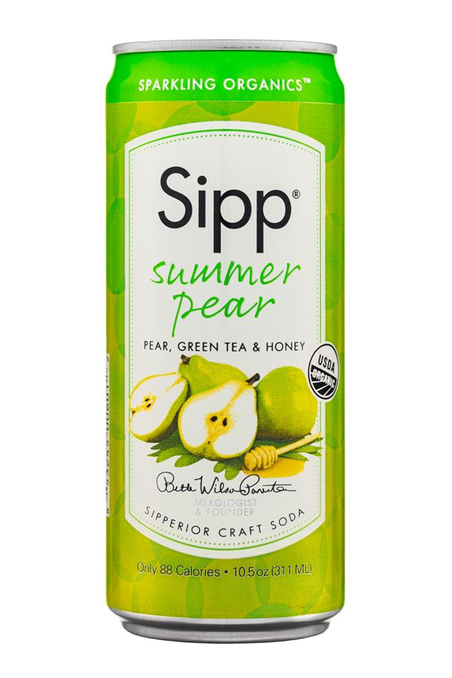 Sipp: Sipp-10oz-Sparkling-SummerPeach-Front
