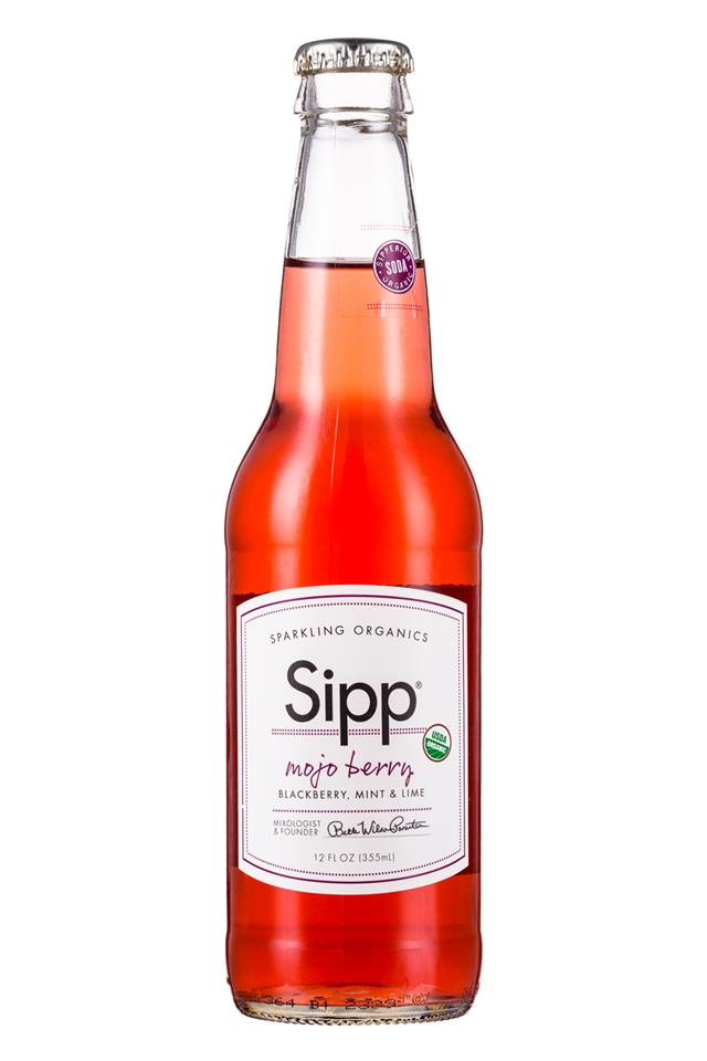 Sipp: Sipp-12oz-Bottle-MojoBerry-Front