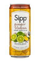 Sipp: Sipp-10oz-Sparkling-GingerBlossum-Front
